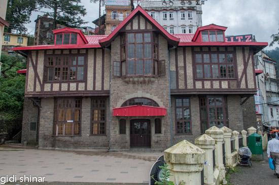 בנייה אירופאית בשימלה
