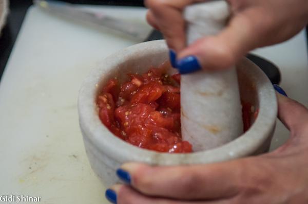 קורס בישול אצל ריטה בבגסו